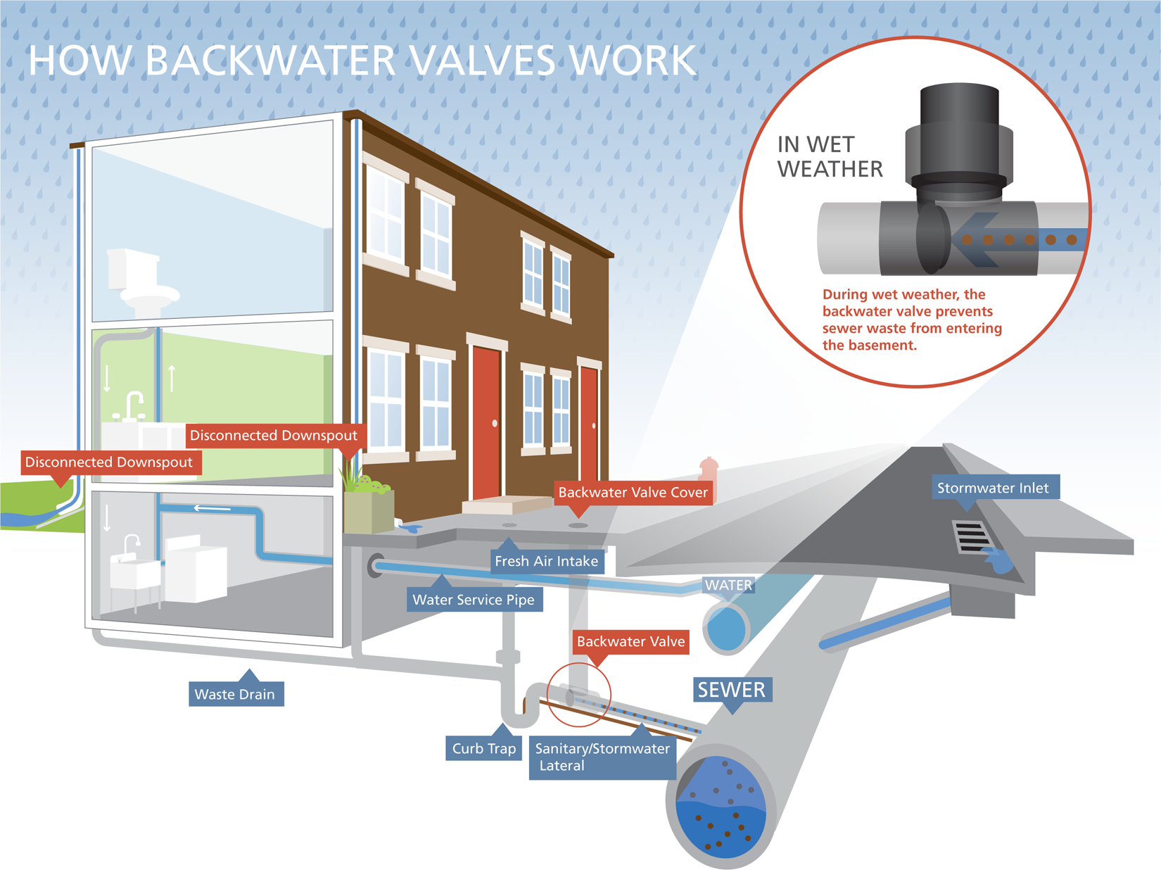 PWD backwater valve inforgraphic