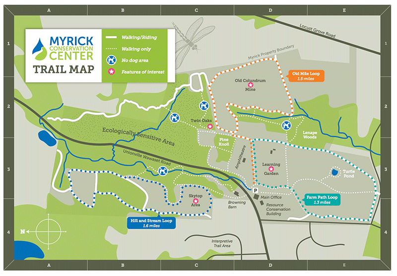 Brandywine Red Clay Alliance Trail Map