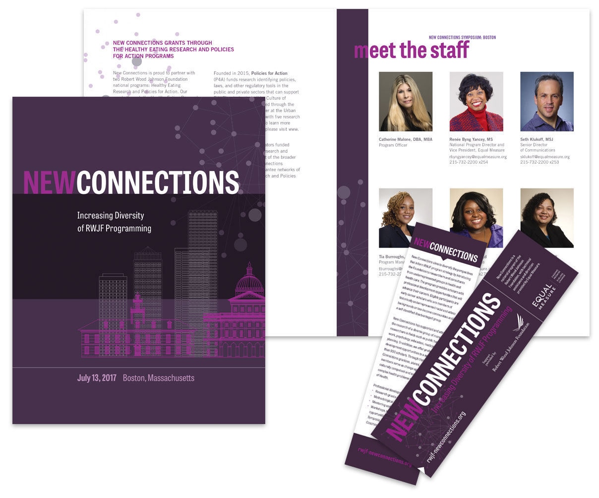 New Connections Event Collateral